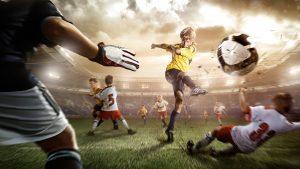 футбол играть