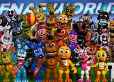 Игра FNAF World demo 2016 играть онлайн бесплатно