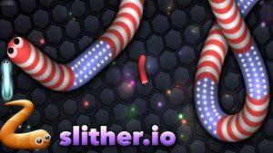 Игра Slither.io играть онлайн на весь экран, скины, читы, слизерио