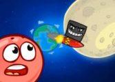 Красный шар спасает луну