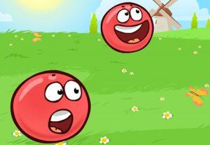 красный шар играть онлайн