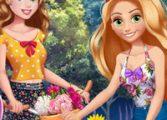 Одевалки принцесс 4
