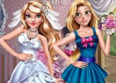 Одевалки принцесс на оценку жюри