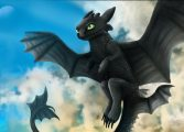 Как приручить дракона дикие небеса