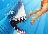 Акула ест людей