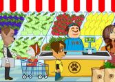 Барбоскины в магазине продуктов