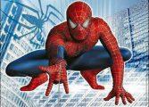 3д человек паук
