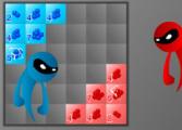 Красные против синих