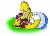 Симпсоны пончики
