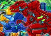 Собирать роботов динозавров