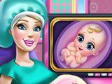 Беременная Барби на Обследовании
