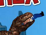 Динозавр Рекс в Нью Йорке
