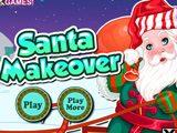 Новый Год: Макияж для Санта Клауса