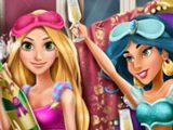 Пижамная Вечеринка Принцесс
