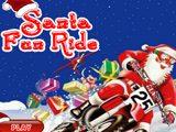 Санта Клаус на Мотоцикле
