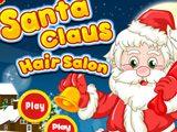 Санта Клаус в Салоне Причесок